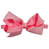 Bow Headband - Light Pink