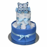 Nappy Cake - New Beginnings Blue