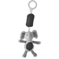 Elephant Chime Toy - Black